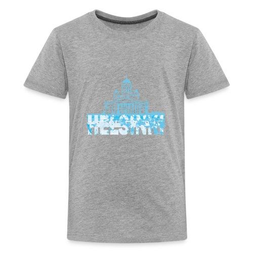 Helsinki Cathedral - Teenage Premium T-Shirt