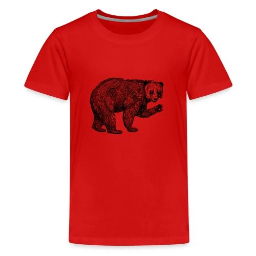Bear Bamboozle - Teenager Premium T-Shirt