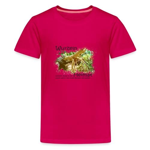 Wurzeln bleiben - Teenager Premium T-Shirt