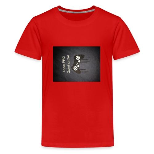 konstig tröja - Premium-T-shirt tonåring