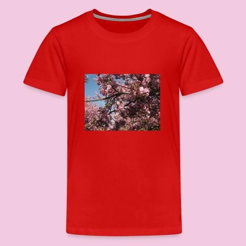 Kirschblüten - Teenager Premium T-Shirt