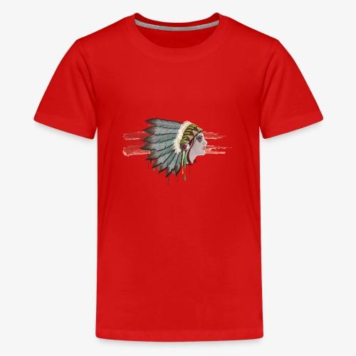 Native american - T-shirt Premium Ado