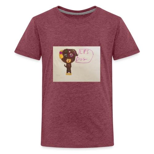 Little pets shop dog - Teenage Premium T-Shirt
