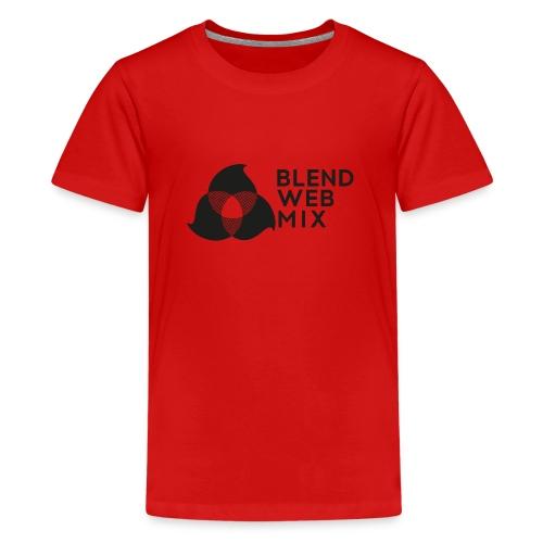 logo noir - T-shirt Premium Ado