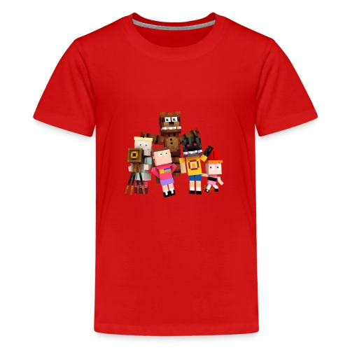 Withered Bonnie Productions - Meet The Gang - Teenage Premium T-Shirt