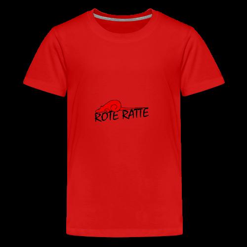 Rote_Ratte - Teenager Premium T-Shirt