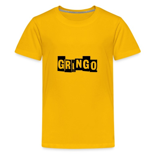 Cartel Gangster pablo gringo mexico tshirt - Teenage Premium T-Shirt