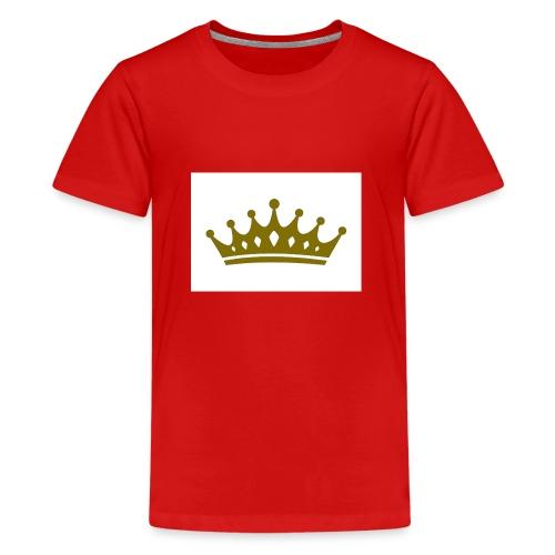 Kongen - Premium T-skjorte for tenåringer