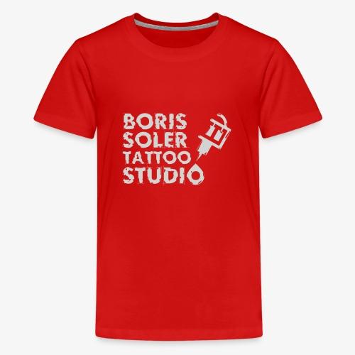 Boris Soler Tattoo - Teenage Premium T-Shirt