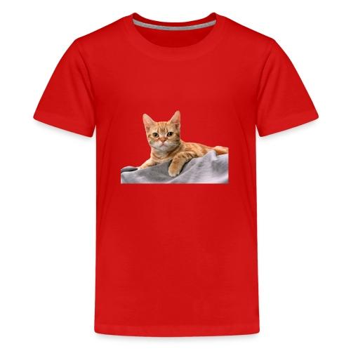 Cuddly Cute Kitty Cat - Teenage Premium T-Shirt