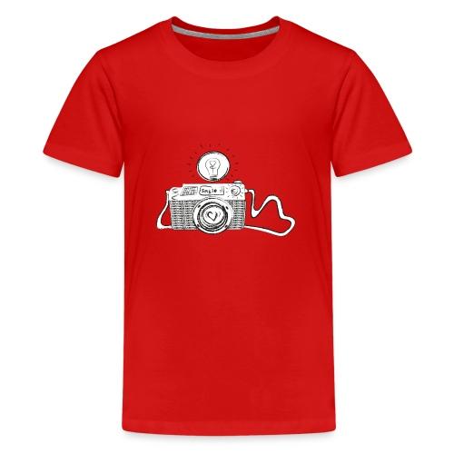 S33 camera-smile - Teenager Premium T-Shirt