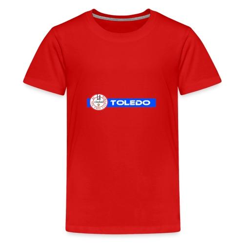TOLEDO 3 CULTURAS trans png - Camiseta premium adolescente