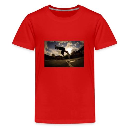 backflip - Premium-T-shirt tonåring