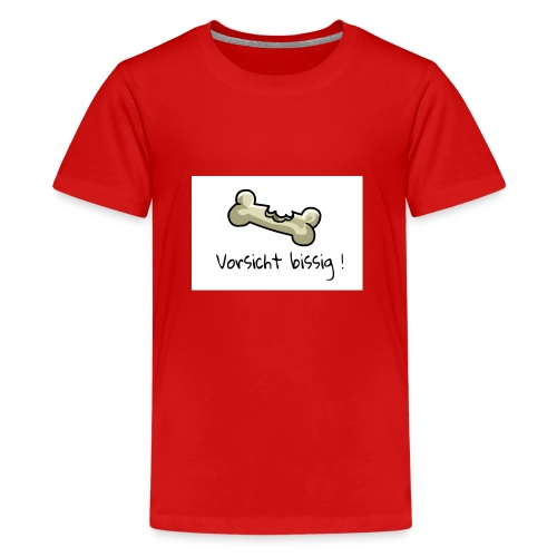 Vorsicht bissig - Teenager Premium T-Shirt