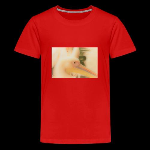 Pelikan light - Teenager Premium T-Shirt