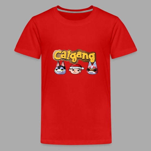 Animal Crossing CatGang - Teenager Premium T-Shirt