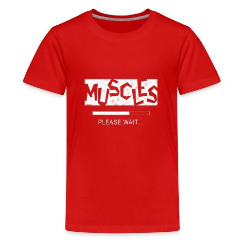 Muscles - Teinien premium t-paita