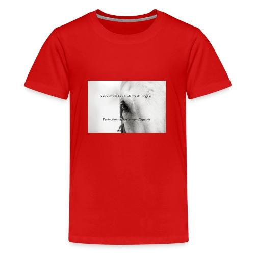 Association les enfants de pégase - T-shirt Premium Ado