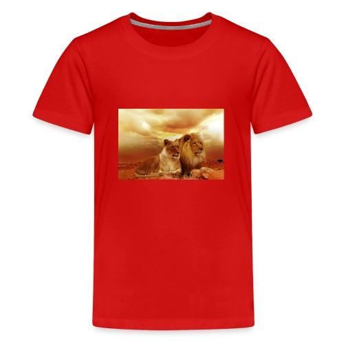 Löwen Lions - Teenager Premium T-Shirt