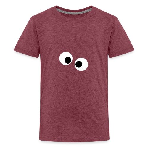 silly eyes - Teenager Premium T-shirt