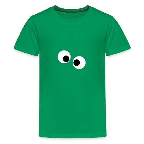 silly eyes - Teenager Premium T-shirt