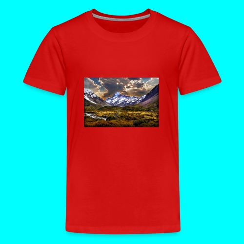 mountain 941507 - Teenager Premium T-Shirt