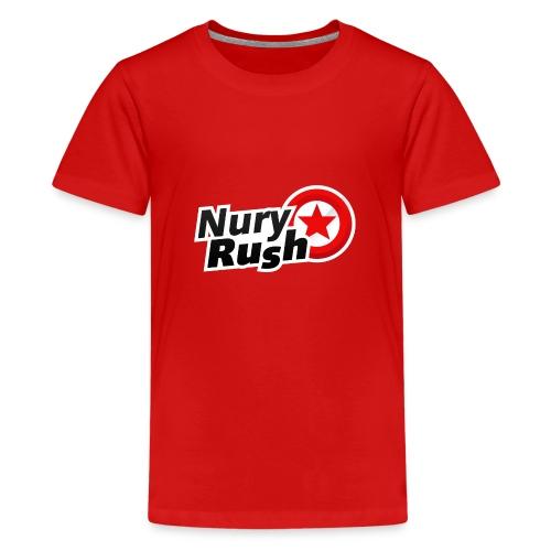 NuryRush Logo png - Maglietta Premium per ragazzi