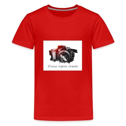 Evolve Inspire Create - Teenage Premium T-Shirt