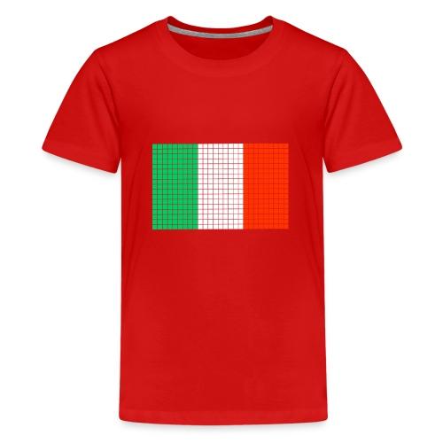 italian flag - Maglietta Premium per ragazzi