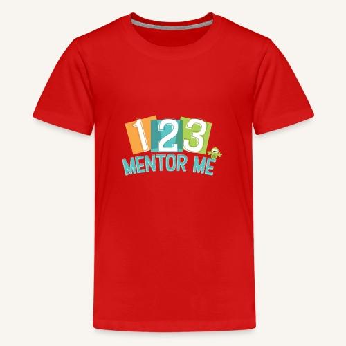 123 T-Shirt - Teenage Premium T-Shirt