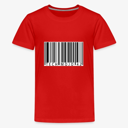 TM graphic Barcode Answer to the universe - Teenage Premium T-Shirt