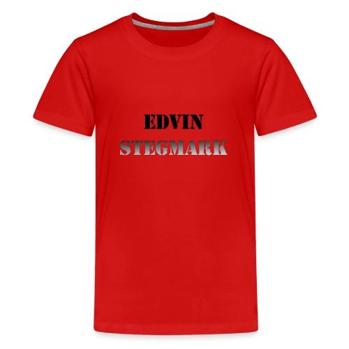 Edvin - Premium-T-shirt tonåring