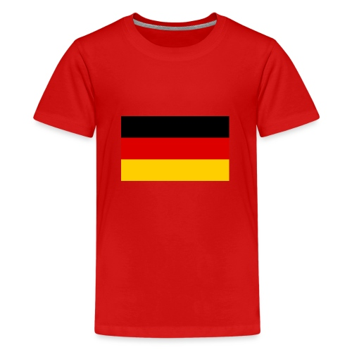 2000px Flag of Germany svg - Teenager Premium T-Shirt
