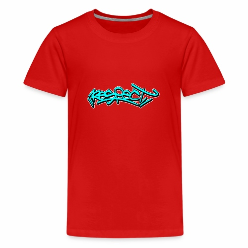 respect graffiti tag - Teenager Premium T-Shirt