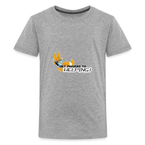 Set Phasers to Helping - Teenage Premium T-Shirt