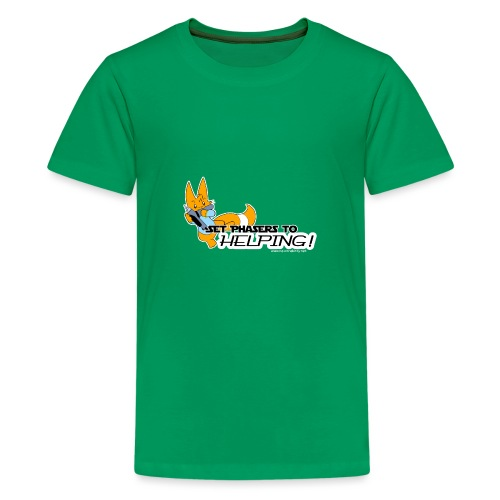 Set Phasers to Helping - Teenage Premium T-Shirt