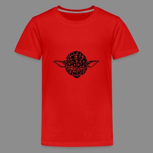 Yoda - Camiseta premium adolescente