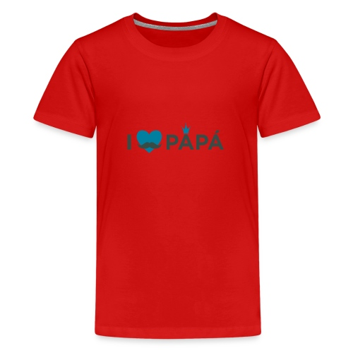 ik hoe van je papa - T-shirt Premium Ado