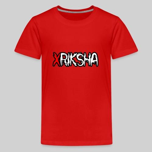xRiksha - Teinien premium t-paita