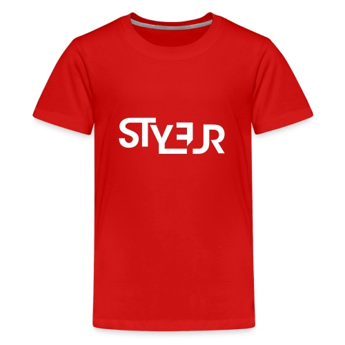 styleur logo spreadhsirt - Teenager Premium T-Shirt