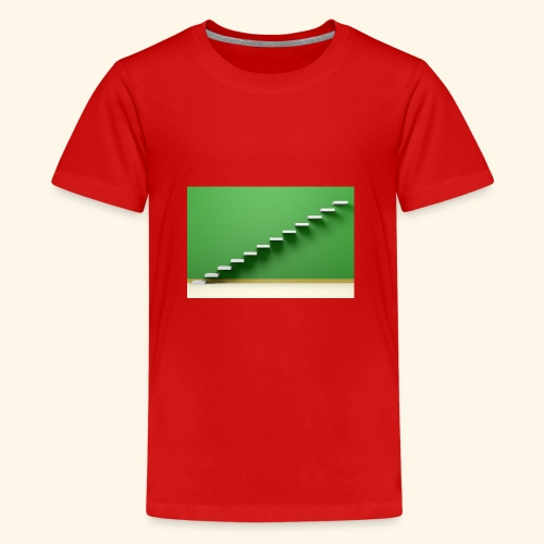 T-Shirts green steps - Teenager Premium T-shirt