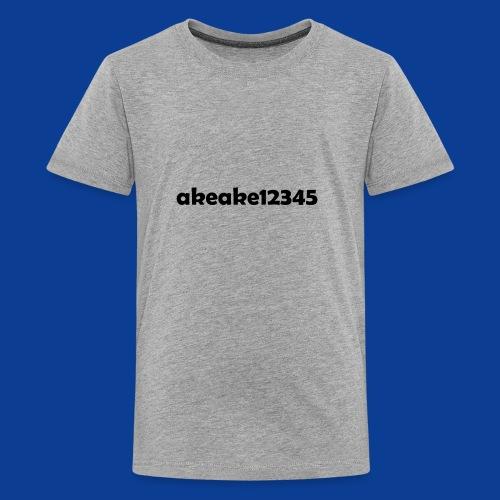 My new shirt - Teenage Premium T-Shirt
