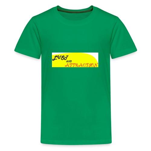 lust ans attraction - Teenage Premium T-Shirt