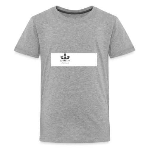 william - Teenage Premium T-Shirt