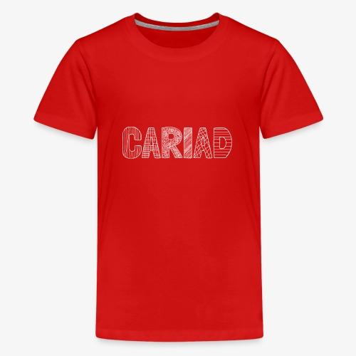 Cariad - Love - Teenage Premium T-Shirt