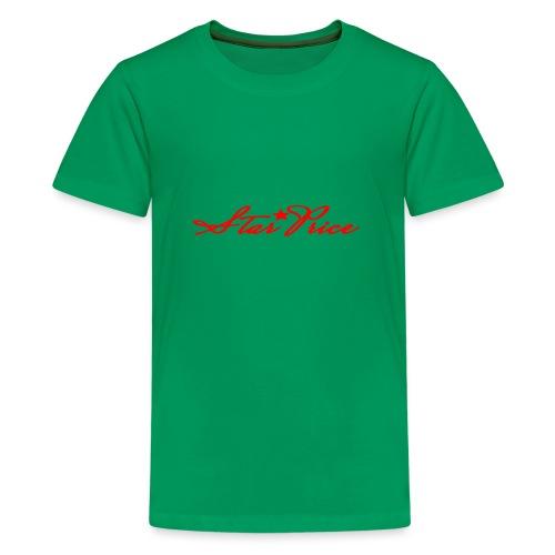 star price (red) - Teenage Premium T-Shirt