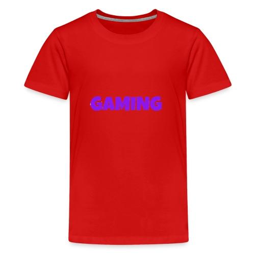 Gaming - Teenager premium T-shirt
