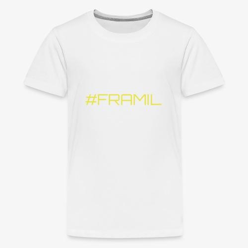 #framil - Teinien premium t-paita