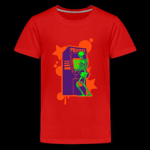 Hi-Score: Crazy Neon - Koszulka młodzieżowa Premium