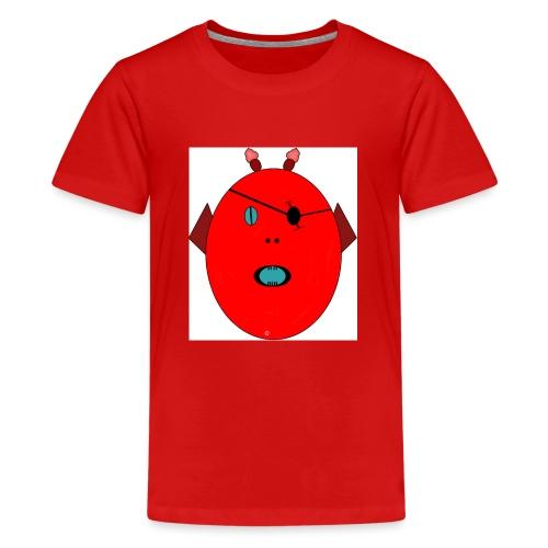 The red monster - Premium-T-shirt tonåring